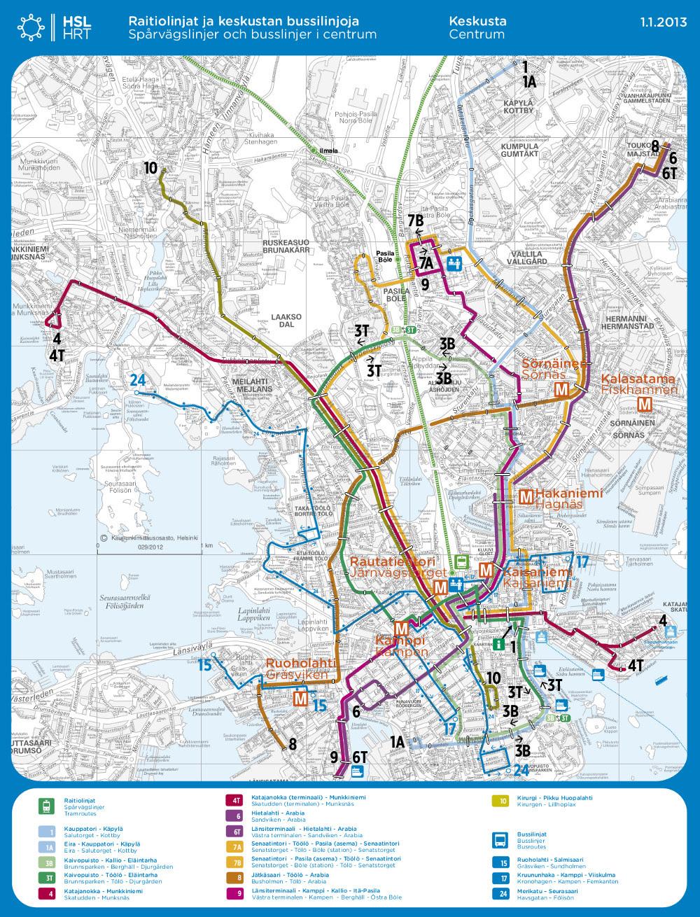 Raitiovaunu Kartta
