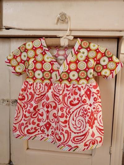 christmas kimono dress
