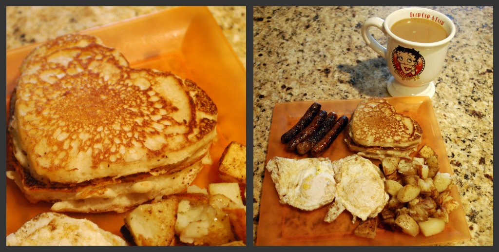Picnik collage Hurricane Irene breakfast