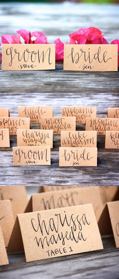 PLACE CARD WEDDING DECOR IDEAS    Wedding Place Cards