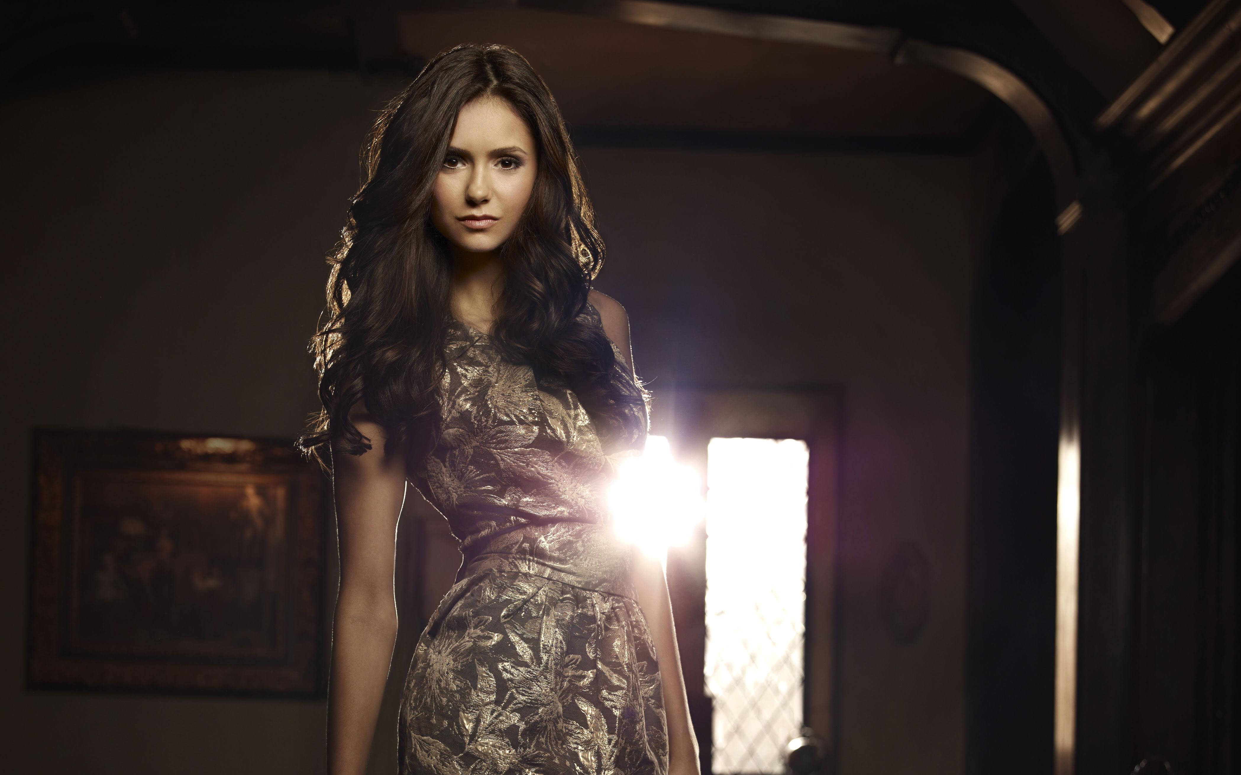Nina Dobrev In Vampire Diaries 4k Wallpapers Hd Wallpapers