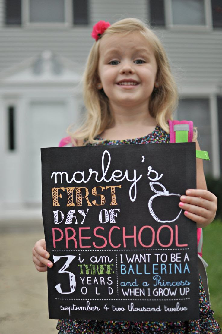 First Day of School Sign by Sassyrae on Etsy, $15.00..love how it says ...