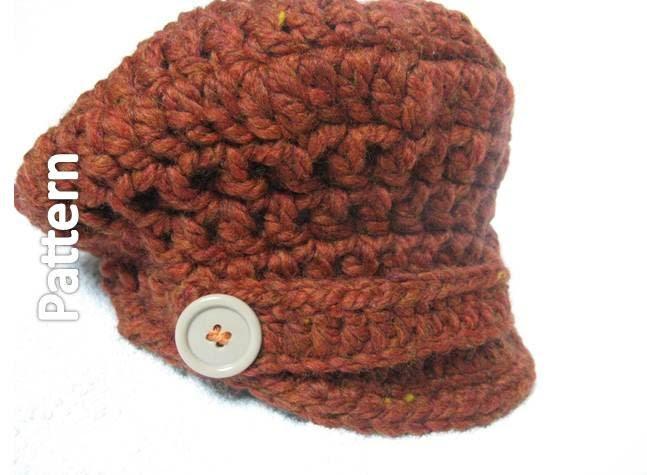 Puff Friendly Crochet Tam Hat - Pattern