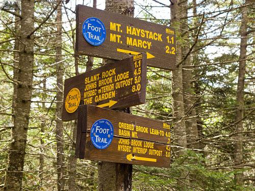 Shorey Shortcut and Range Trail intersection