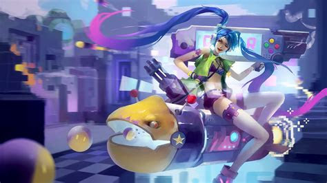jinx league  legends  laptop full hd p