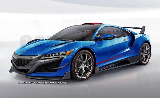 New 2020 Acura NSX