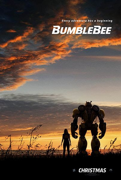 The teaser poster for BUMBLEBEE.