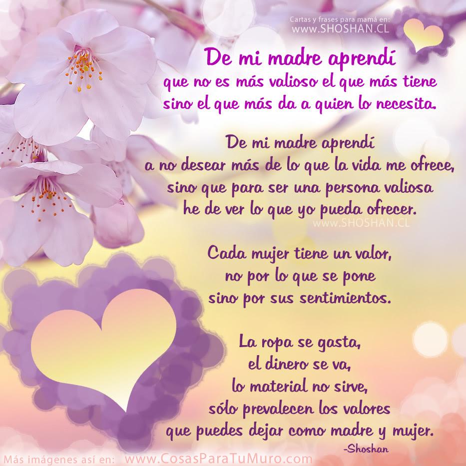 Blog Catolico De Javier Olivares Baiona Frases De Amor A Una Madre