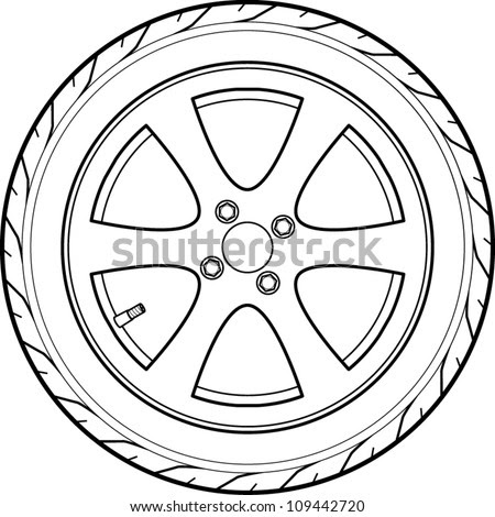 Image Result For Car Tire On Rim