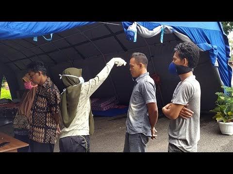 Monitoring Pelaksanaan Pemantauan Kesehatan Kewaspadaan Covid-19 di Pos Perbatasan Lampung Barat dan Pesisir Barat
