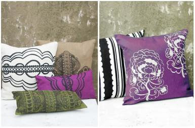 Printed designer cushion