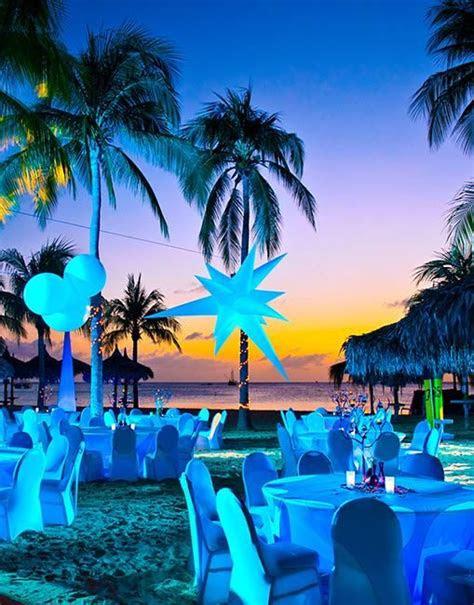 wedding venue spotlight aruba resorts  cheap  chic