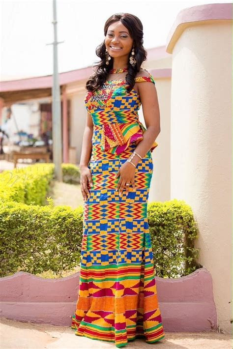 I Do Ghana photo   Kente bride Sarah   #KenteBride #
