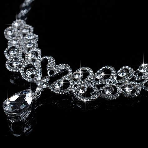 Wholesale Wedding Australia Rhinestone Necklace Crown