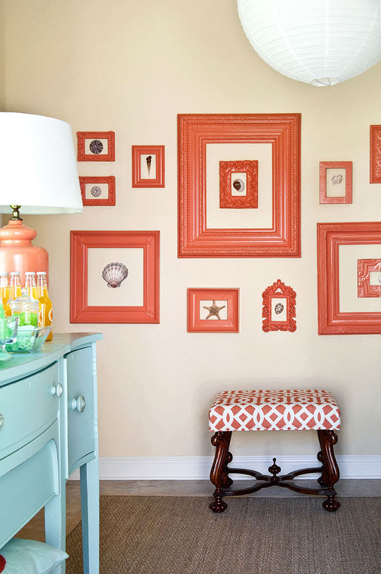 Decorating With Orange An Instant Pick Me Up Traditional Home