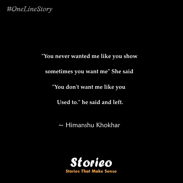 Why You Did This To Me Storieo
