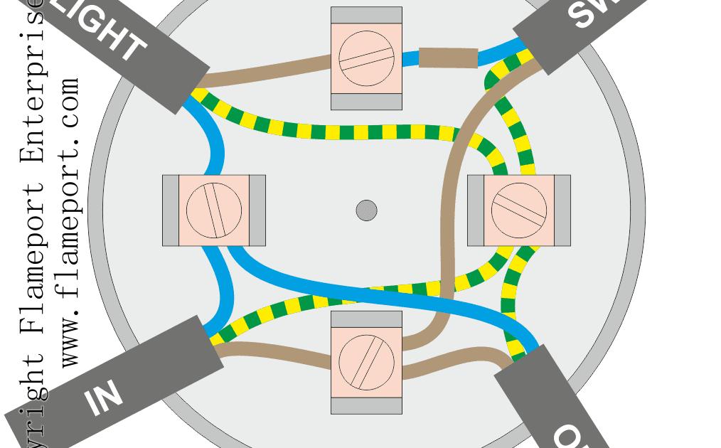 Lighting Junction Box Wiring Diagram