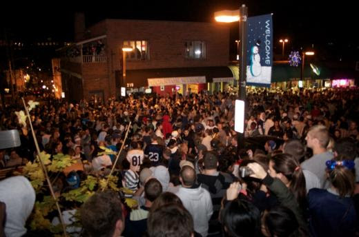 Image result for state college rioting