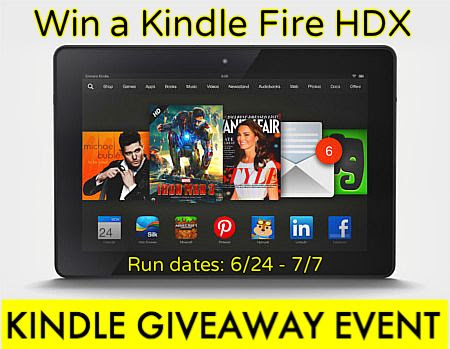 Tip Hero's Kindle Fire HDX Giveaway Event