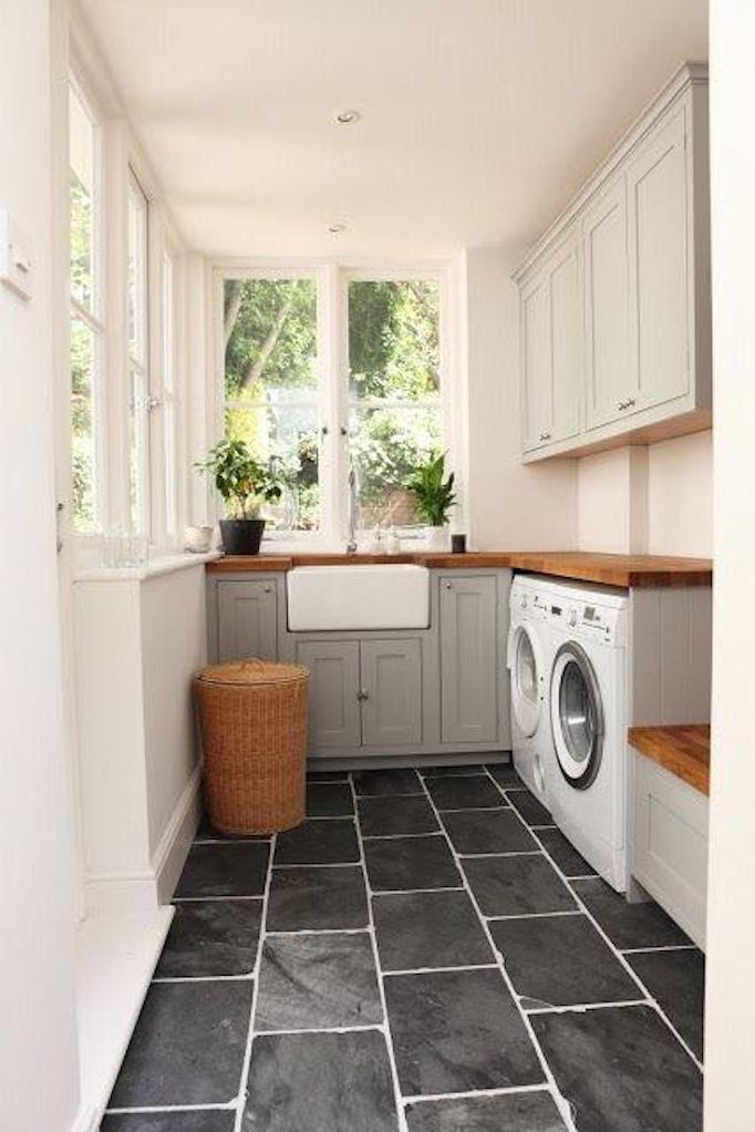 patterned laundry room tiles 2