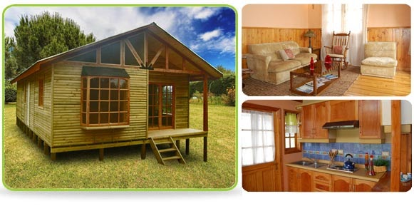 Casas de madera prefabricadas casas prefabricadas buin fotos - Casa de madera prefabricada ...