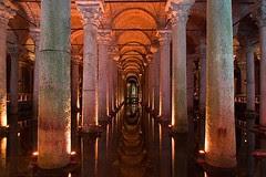 Di Dlm Basilica Cistern, Istanbul, Turkey