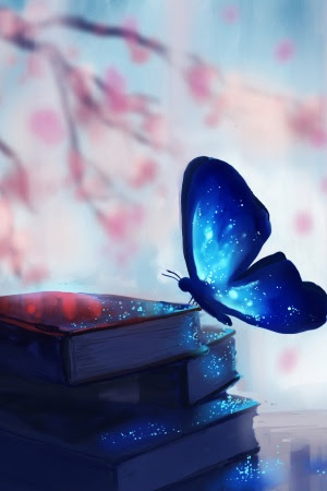 Fantasy Butterfly Mobile Wallpaper