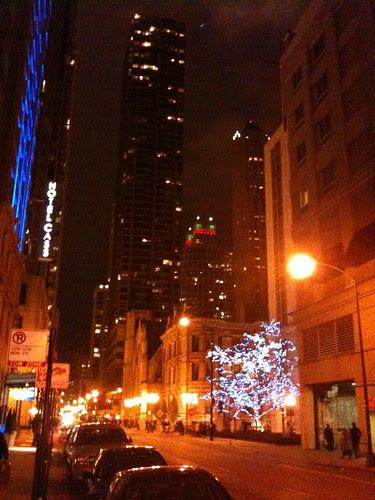 Looking towards Michigan Avenue