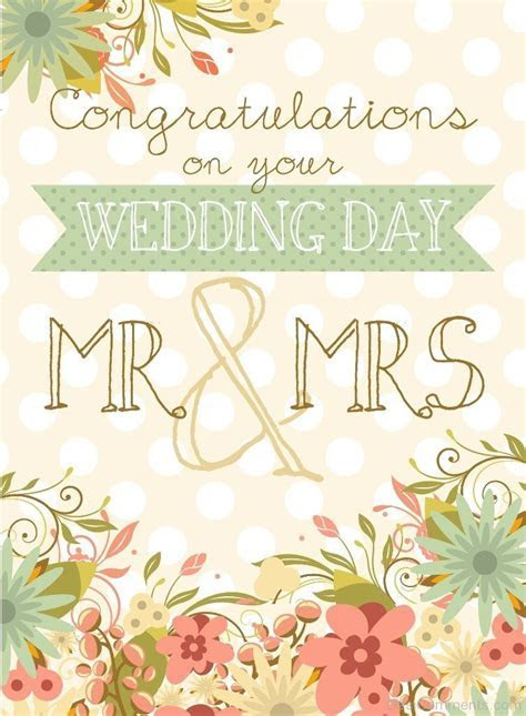 Congratulations On Your Wedding Wishes