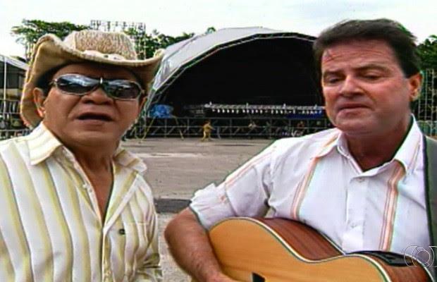 Cantor sertanejo Matão, da dupla com Monteiro, morre em Goiânia, Goiás (Foto: Reprodução/TV Anhanguera)