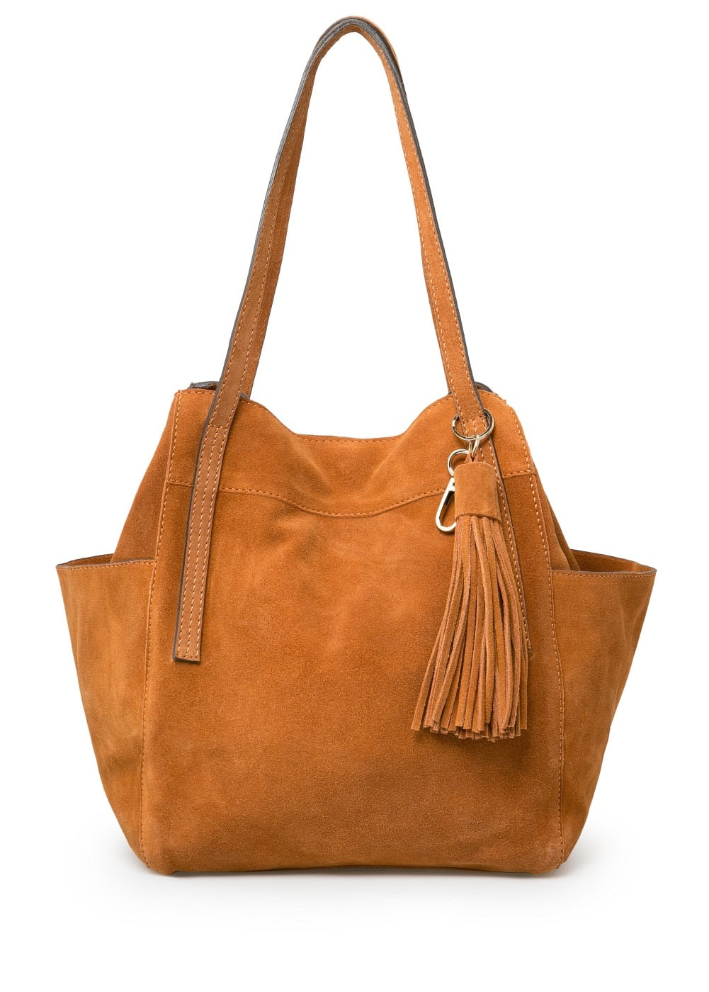 Tassel hobo bag