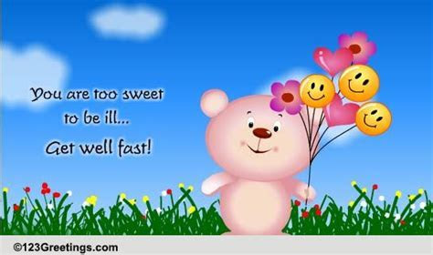 Get Well Fast! Free Recovery eCards, Greeting Cards   123