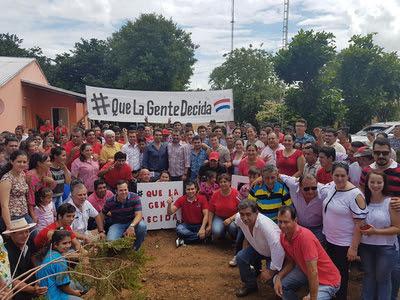 Resultado de imagen para Diputado Bernardo Villalba insta a movilización pacífica proenmienda