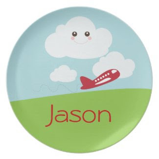 Sweetest Personalized Kids Plate plate