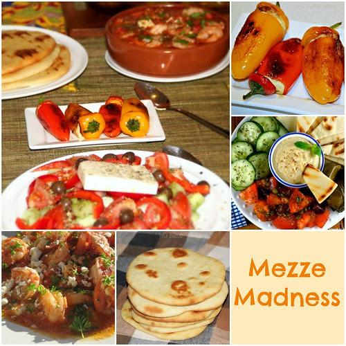 Mezze Madness Collage