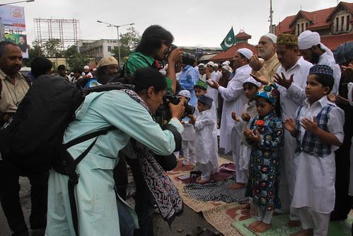 media shooting the poster boys on eid ,,,i shoot the badnasib by firoze shakir photographerno1