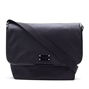 Kate Spade Large Black Messenger Baby Diaper Bag