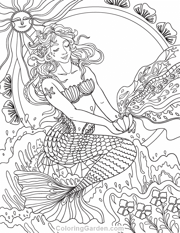 Free Coloring Pages For Adults Pdf - Coloring And Drawing