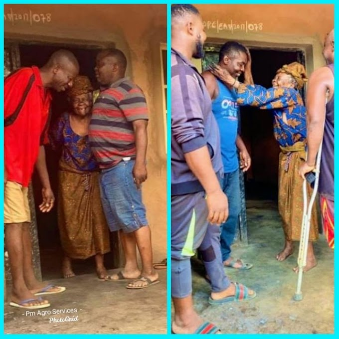 Two Brothers Surprised Old Woman Who Gives Them Free Akara While Going To School 40years ago