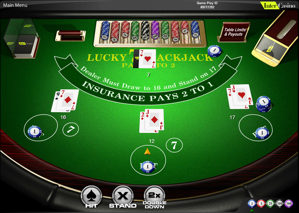 Win extra large payouts with lucky lucky blackjack keno bar