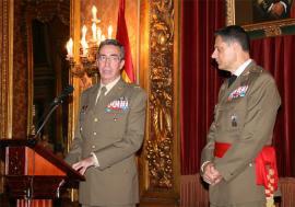 El JEME acompañó al teniente general