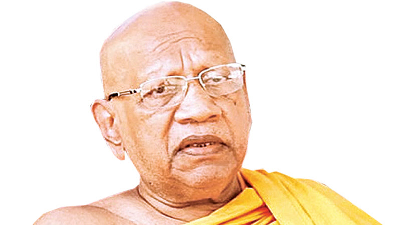 Ven.Bellanwila nayake thera's funeral today