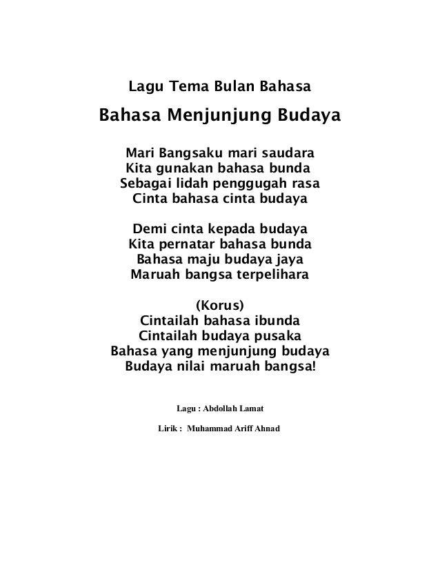 Contoh Pantun Dari Lirik Lagu - Contoh KR