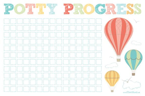 it's hue i love: Potty Progress & Free Printable!