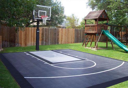 backyard basketball court ideas 6
