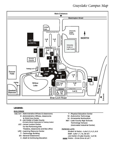 Occ Royal Oak Campus Map.Oakland Community College Campus Map Time Zones Map