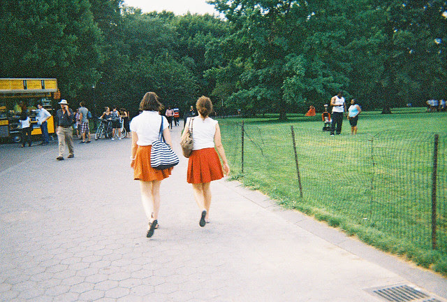 red & orange