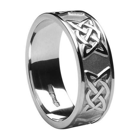 Mens Celtic Wedding Rings MS WED295