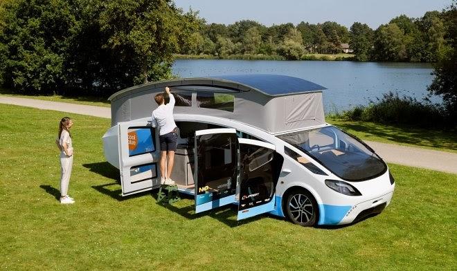 Электрический «дом на колесах» отправляется в путешествие протяженностью 3000 км