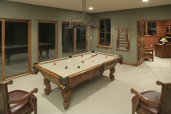 Editor's Choice Media & Game Rooms | The House Designers Blog